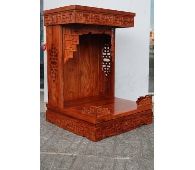 Tủ ông Địa gỗ Hương kiểu mới