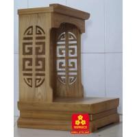 Mẫu bàn thờ Thần Tài kích thước nhỏ