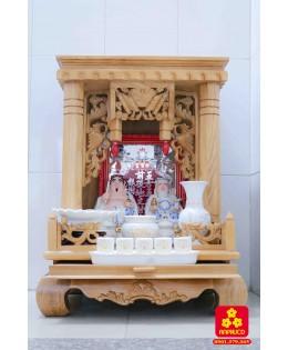 Tủ thờ thần tài đẹp mẫu năm 2018 của Anphuco